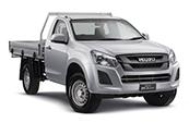 New Isuzu D-MAX 4x2 SX Single Cab Chassis, Blue Ribbon Motors, Yamanto