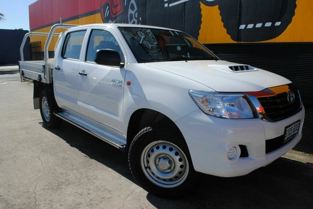 Used Toyota Hilux SR Double Cab, Melrose Park, 2014 Toyota Hilux SR Double Cab Cab Chassis