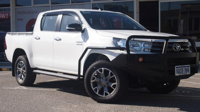 Demonstrator, Demo, Near New Toyota Hilux SR Double Cab, Northbridge, 2016 Toyota Hilux SR Double Cab Cab Chassis