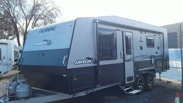Used Olympic Javelin x8, St Marys, 2017 Olympic Javelin x8 Caravan