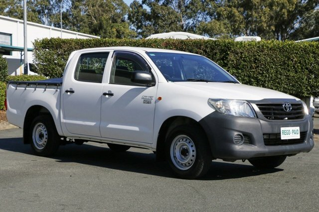 Used Toyota Hilux Workmate Double Cab, Acacia Ridge, 2012 Toyota Hilux Workmate Double Cab TGN16R MY12 Utility