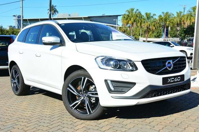 Demonstrator, Demo, Near New Volvo XC60 D5 Geartronic AWD R-Design, Southport, 2016 Volvo XC60 D5 Geartronic AWD R-Design Wagon