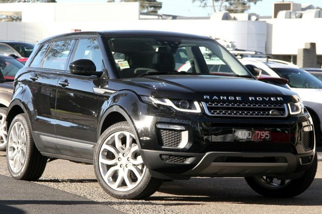 Demonstrator, Demo, Near New Land Rover Range Rover Evoque TD4 150 SE, Port Melbourne, 2017 Land Rover Range Rover Evoque TD4 150 SE Wagon