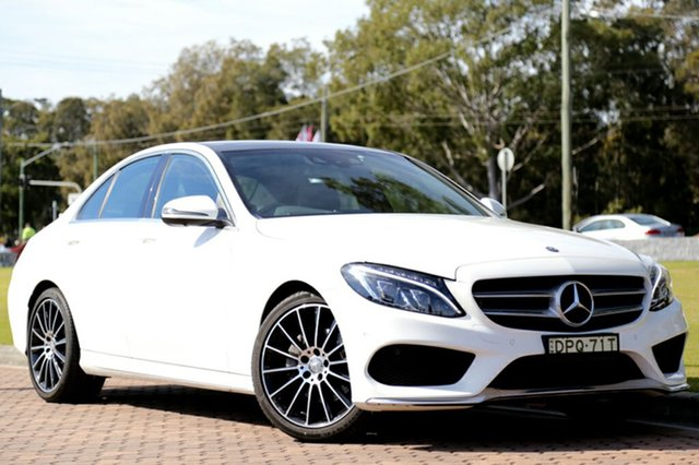 Discounted Used Mercedes-Benz C200 7G-Tronic +, Warwick Farm, 2016 Mercedes-Benz C200 7G-Tronic + Sedan