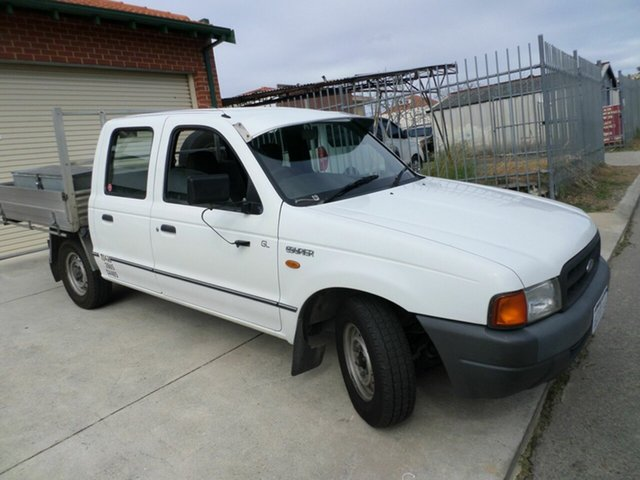 Used Ford Courier GL Crew Cab, Mount Lawley, 2001 Ford Courier GL Crew Cab Cab Chassis