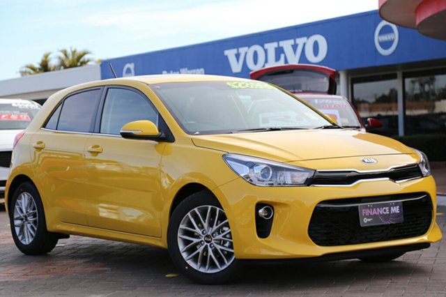 Demonstrator, Demo, Near New Kia Rio SLi, Warwick Farm, 2017 Kia Rio SLi Hatchback