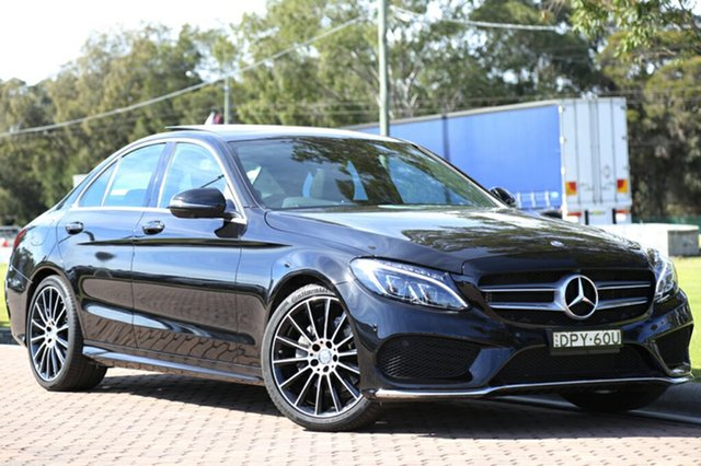Used Mercedes-Benz C200 7G-Tronic +, Warwick Farm, 2016 Mercedes-Benz C200 7G-Tronic + Sedan