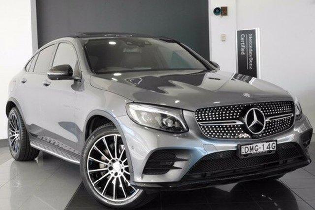 Demonstrator, Demo, Near New Mercedes-Benz GLC220 d Coupe 9G-Tronic 4MATIC, Mosman, 2016 Mercedes-Benz GLC220 d Coupe 9G-Tronic 4MATIC Wagon