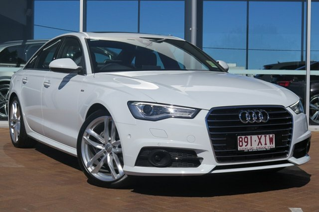 Demonstrator, Demo, Near New Audi A6 S tronic, Toowoomba, 2017 Audi A6 S tronic Sedan