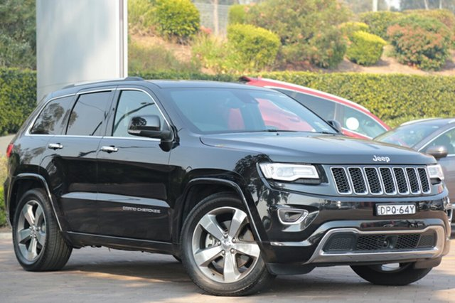 Discounted Demonstrator, Demo, Near New Jeep Grand Cherokee Overland, Southport, 2015 Jeep Grand Cherokee Overland SUV