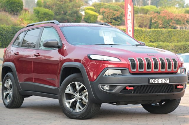 Discounted Demonstrator, Demo, Near New Jeep Cherokee Trailhawk, Southport, 2015 Jeep Cherokee Trailhawk SUV