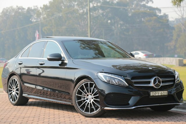 Used Mercedes-Benz C250 7G-Tronic +, Warwick Farm, 2016 Mercedes-Benz C250 7G-Tronic + Sedan