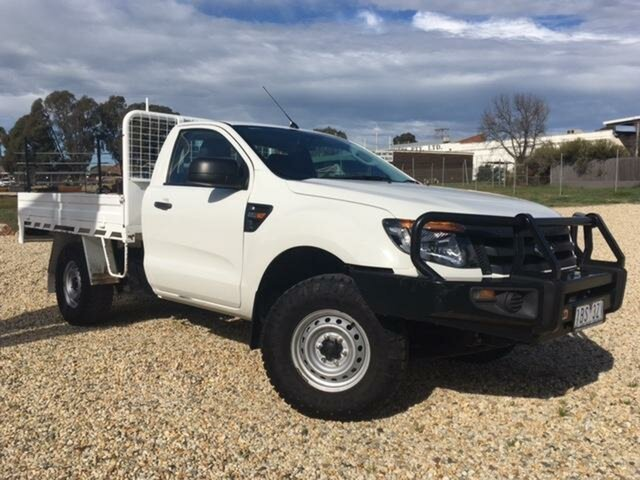Used Ford Ranger XL 2.2 (4x4), Wangaratta, 2014 Ford Ranger XL 2.2 (4x4) Cab Chassis