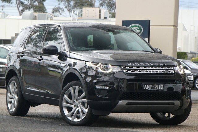 Demonstrator, Demo, Near New Land Rover Discovery Sport TD4 180 HSE, Port Melbourne, 2017 Land Rover Discovery Sport TD4 180 HSE Wagon