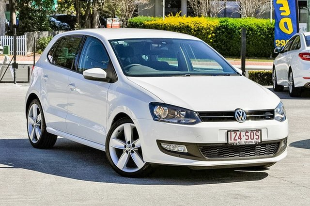 Used Volkswagen Polo 77TSI Comfortline, Southport, 2012 Volkswagen Polo 77TSI Comfortline Hatchback