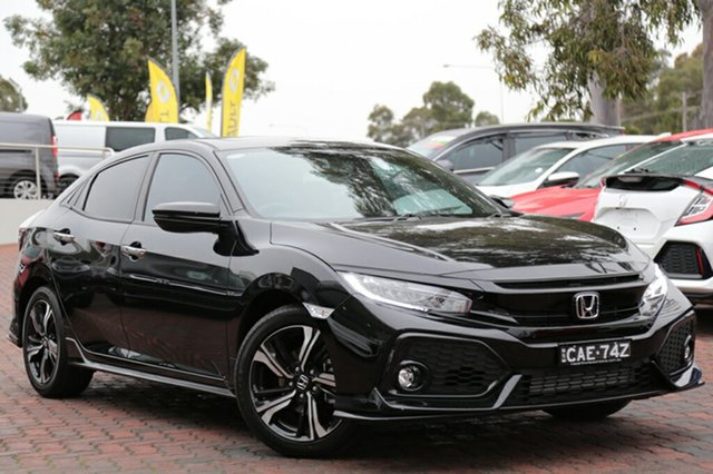 Discounted Demonstrator, Demo, Near New Honda Civic RS, Southport, 2017 Honda Civic RS Hatchback