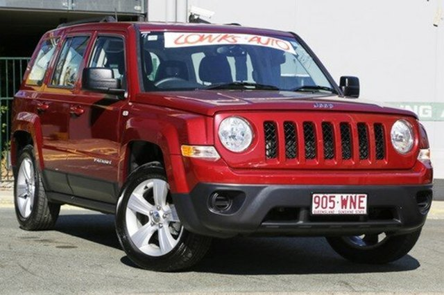 Used Jeep Patriot Sport CVT Auto Stick 4x2, Moorooka, Brisbane, 2014 Jeep Patriot Sport CVT Auto Stick 4x2 Wagon
