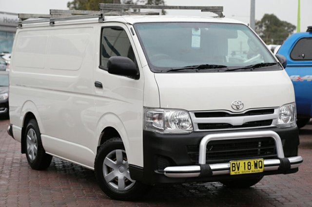 Used Toyota Hiace LWB, Narellan, 2013 Toyota Hiace LWB Van