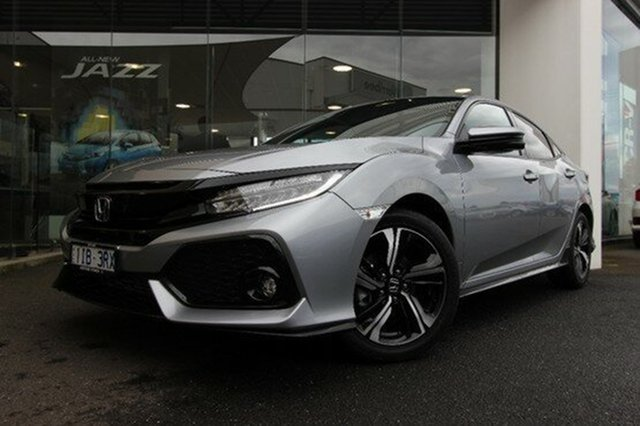 Demonstrator, Demo, Near New Honda Civic RS, Hoppers Crossing, 2017 Honda Civic RS Hatchback