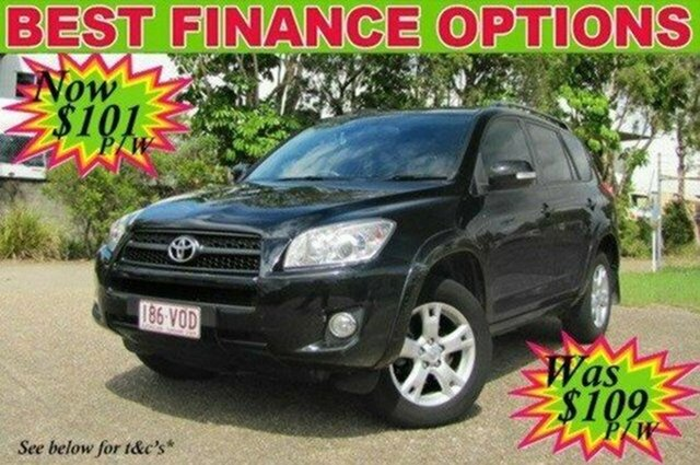 Used Toyota RAV4 ACA38R MY12 Cruiser 4x2, 2012 Toyota RAV4 ACA38R MY12 Cruiser 4x2 Black 4 Speed Automatic Wagon