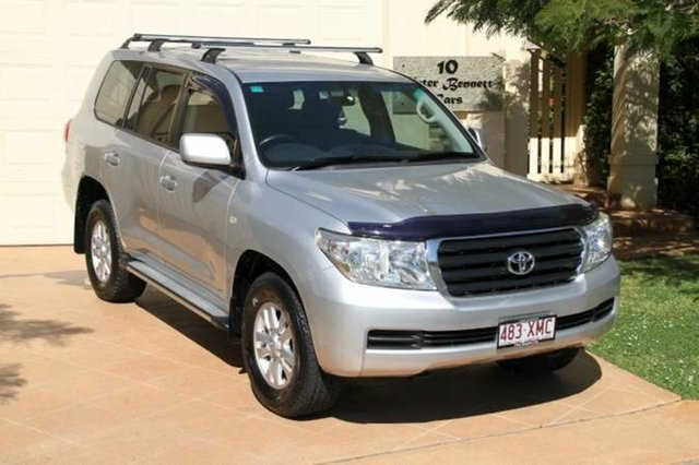 Discounted Used Toyota Landcruiser GXL, Bundall, 2009 Toyota Landcruiser GXL UZJ200R MY10 Wagon
