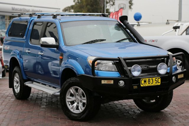 Used Ford Ranger XLT Crew Cab, Narellan, 2011 Ford Ranger XLT Crew Cab Utility