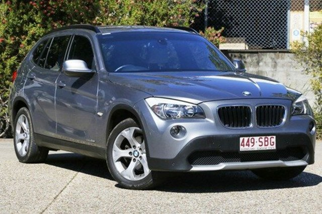 Used BMW X1 E84 MY0911 sDrive20d Steptronic, 2011 BMW X1 E84 MY0911 sDrive20d Steptronic Grey 6 Speed Sports Automatic Wagon