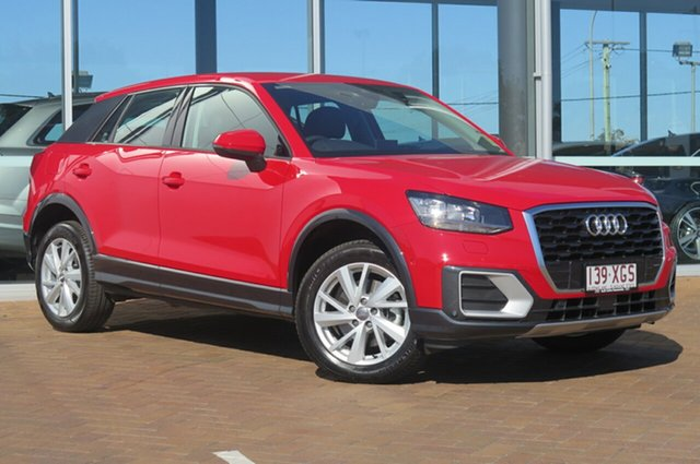 Demonstrator, Demo, Near New Audi Q2 design S tronic, Toowoomba, 2016 Audi Q2 design S tronic Wagon