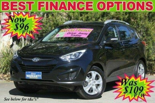 Used Hyundai ix35 LM3 MY15 Active, 2015 Hyundai ix35 LM3 MY15 Active Black 6 Speed Sports Automatic Wagon