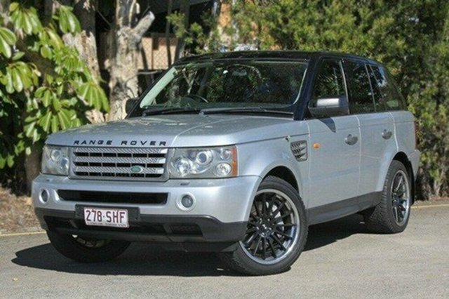 Used Land Rover Range Rover Sport L320 08MY TDV8, 2007 Land Rover Range Rover Sport L320 08MY TDV8 Silver 6 Speed Sports Automatic Wagon