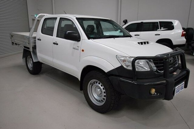 Used Toyota Hilux SR Double Cab, Kenwick, 2012 Toyota Hilux SR Double Cab Utility