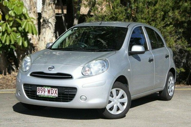 Used Nissan Micra K13 MY13 ST, 2013 Nissan Micra K13 MY13 ST Grey 4 Speed Automatic Hatchback