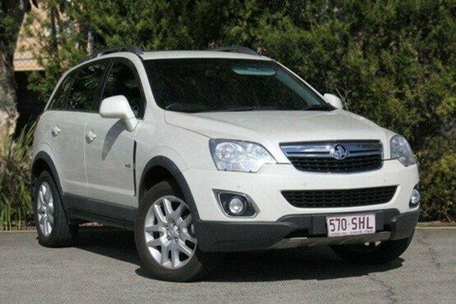 Used Holden Captiva CG Series II MY12 5, 2012 Holden Captiva CG Series II MY12 5 White 6 Speed Manual Wagon