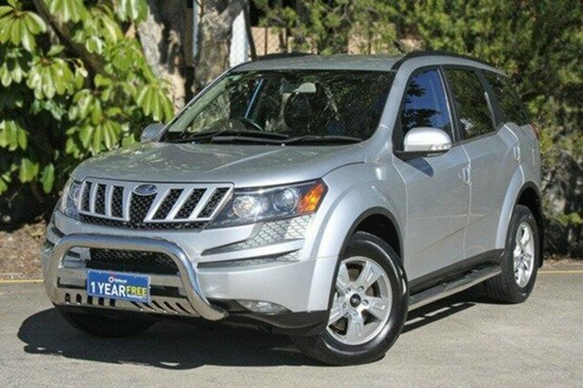 Used Mahindra XUV500 MY13 W8 AWD, 2012 Mahindra XUV500 MY13 W8 AWD Silver 6 Speed Manual Wagon