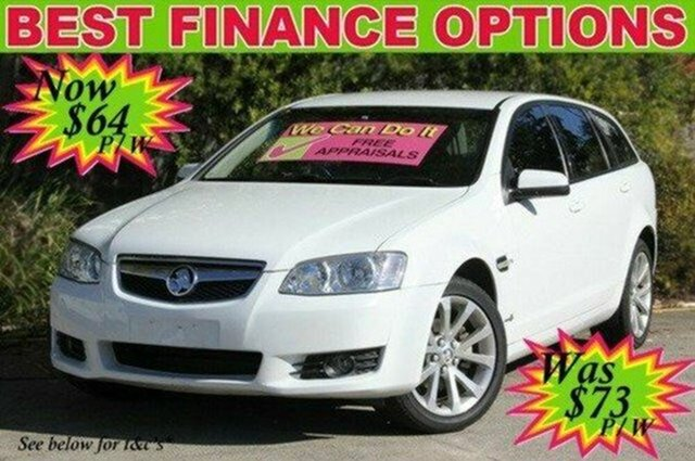 Used Holden Berlina VE II Sportwagon, 2011 Holden Berlina VE II Sportwagon White 6 Speed Sports Automatic Wagon
