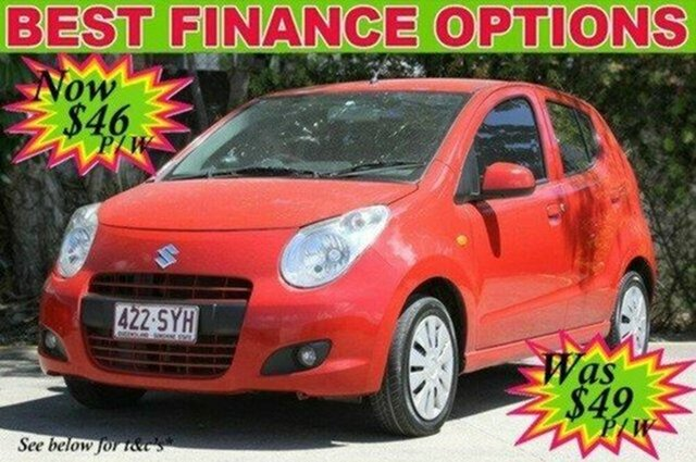 Used Suzuki Alto GF GL, 2013 Suzuki Alto GF GL Red 5 Speed Manual Hatchback