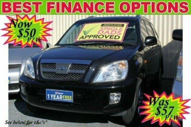 Used Chery J11 T1X 2WD, 2011 Chery J11 T1X 2WD Black 5 Speed Manual Wagon