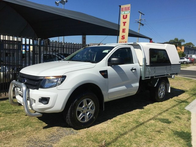 Discounted Used Ford Ranger XL 2.2 (4x4), Toowoomba, 2012 Ford Ranger XL 2.2 (4x4) Cab Chassis