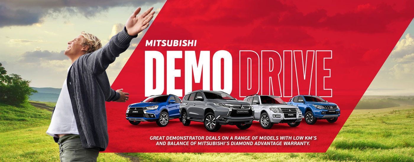 Mitsubishi - National Offer - Demo Drive