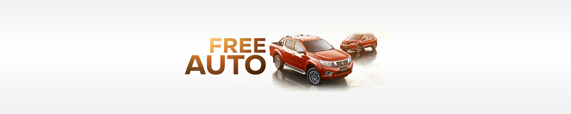 Nissan - National Offer - Free Auto