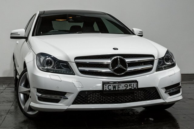 Used Mercedes-Benz C250 7G-Tronic +, Rozelle, 2014 Mercedes-Benz C250 7G-Tronic + Coupe