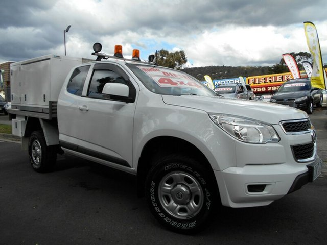 Used Holden Colorado LX (4x4), Upper Ferntree Gully, 2012 Holden Colorado LX (4x4) Spacecab