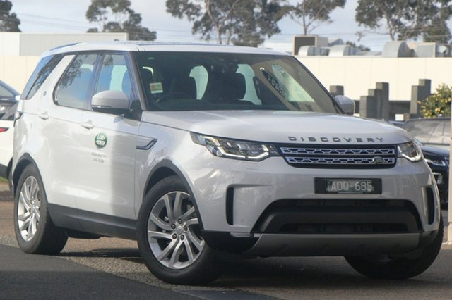 Demonstrator, Demo, Near New Land Rover Discovery TD6 HSE, Port Melbourne, 2017 Land Rover Discovery TD6 HSE Wagon