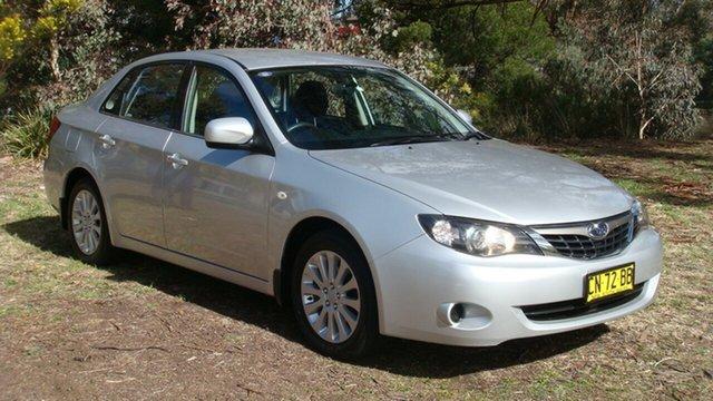 Used Subaru Impreza R AWD, Queanbeyan, 2008 Subaru Impreza R AWD Sedan