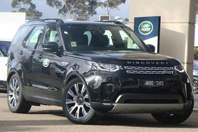 Demonstrator, Demo, Near New Land Rover Discovery, Port Melbourne, 2017 Land Rover Discovery Wagon