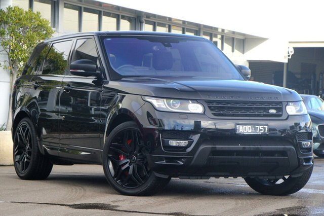 Used Land Rover Range Rover Sport V8SC CommandShift Autobiography Dynamic, Port Melbourne, 2015 Land Rover Range Rover Sport V8SC CommandShift Autobiography Dynamic Wagon
