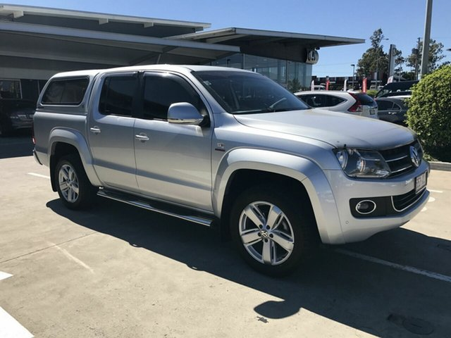Discounted Used Volkswagen Amarok TDI420 4Motion Perm Ultimate, Yamanto, 2012 Volkswagen Amarok TDI420 4Motion Perm Ultimate Utility