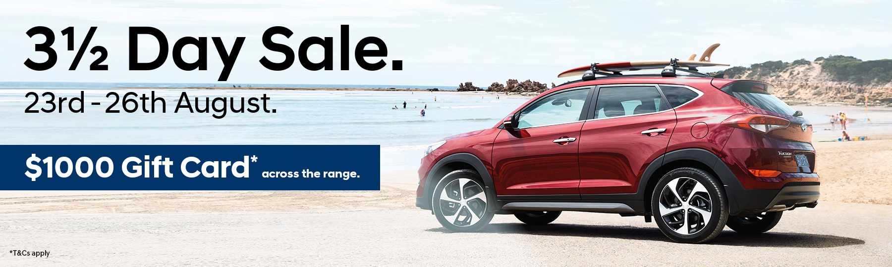 Hyundai 3 Day Sale