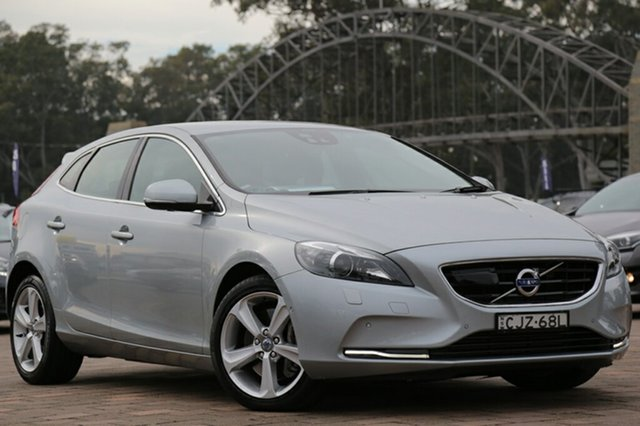 Used Volvo V40 D4 Adap Geartronic Luxury, Warwick Farm, 2013 Volvo V40 D4 Adap Geartronic Luxury Hatchback