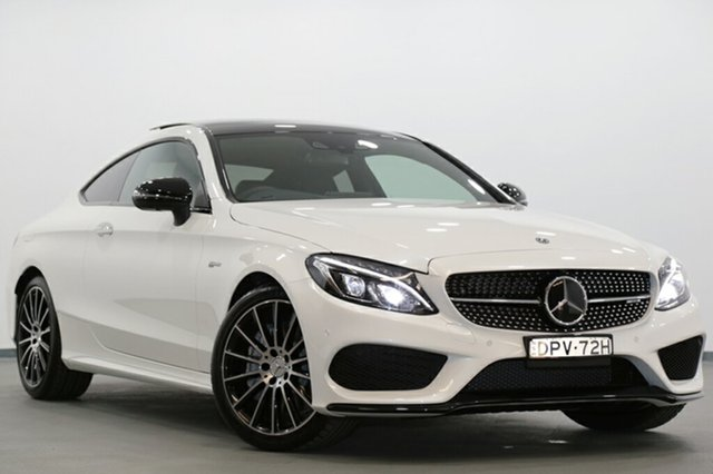 Demonstrator, Demo, Near New Mercedes-Benz C43 AMG 9G-TRONIC 4MATIC, Narellan, 2017 Mercedes-Benz C43 AMG 9G-TRONIC 4MATIC Coupe